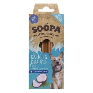 Soopa Natural Ingredients Dental Sticks Dog Treats