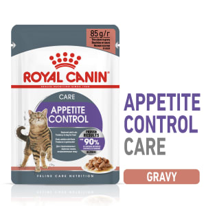Royal Canin Appetite Control Adult Sterilised Wet Cat Food - Gravy