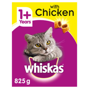 Whiskas Adult 1+ Complete Dry Cat Food - Chicken