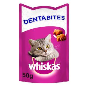 Whiskas Dentabites Adult Cat Treats - Chicken