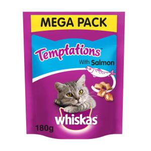 Whiskas Temptations Adult Cat Treats - Salmon