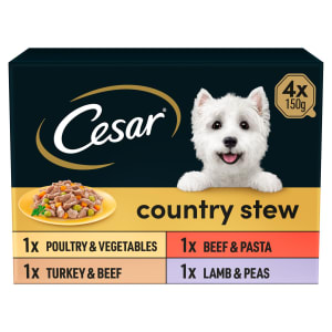Cesar Country Stew Adult Wet Dog Food - Mixed Selection