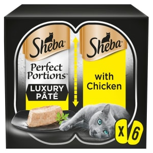 Sheba Perfect Portions Adult Cat Wet Food - Chicken in Loaf