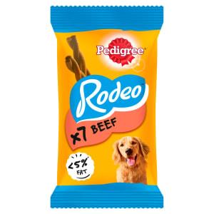 Pedigree Rodeo Adult Dog Treats - Beef