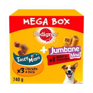 Pedigree Tasty Minis & Jumbone Small Adult Dog Treats - Mega Box