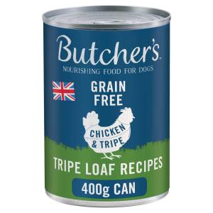 Butcher's Grain-Free Tripe Loaf Recipe Wet Dog Food - Chicken & Tripe