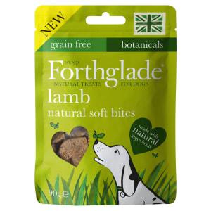 Forthglade Grain-Free Natural Soft Bites Dog Treats - Lamb