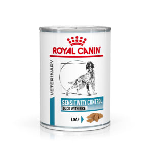 Royal Canin Sensitivity Control Adult Wet Dog Food - Duck & Rice in Loaf