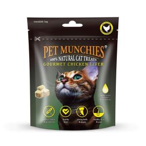 Pet Munchies Freeze Dried Adult Cat Treats - Chicken Liver