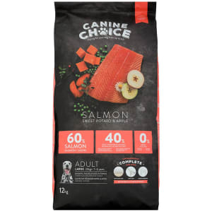 Canine Choice Grain Free Large Adult Dry Dog Food - Salmon