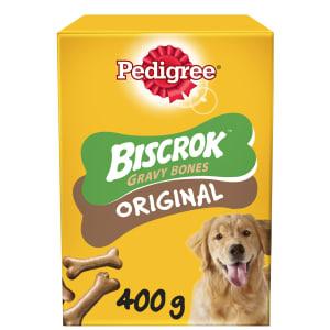 Pedigree Biscrok Gravy Bones Biscuits Adult Dog Treats - Original