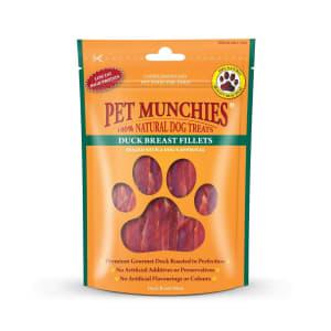 Pet Munchies Dog Treats - Duck Fillet