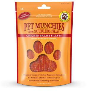Pet Munchies Dog Treats - Chicken Fillets