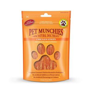 Pet Munchies Dog Treats - Chicken Strips