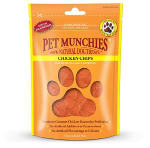 Pet Munchies Dog Treats - Chicken Chips