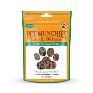 Pet Munchies Dog Training Treats - Sushi