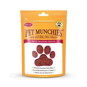 Pet Munchies Dog Training Treats - Duck