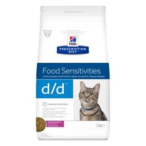 Hill's Prescription Diet Skin/Food Sensitivities d/d Dry Cat Food - Duck & Green Pea