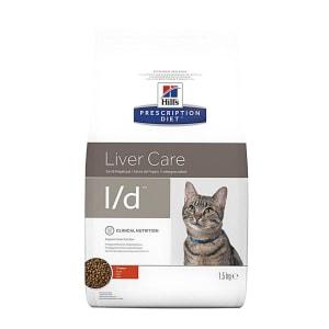 Hill's Prescription Diet Liver Care l/d Adult Dry Cat Food - Chicken