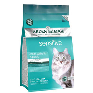 Arden Grange Adult Cat Sensitive White Fish & Potato