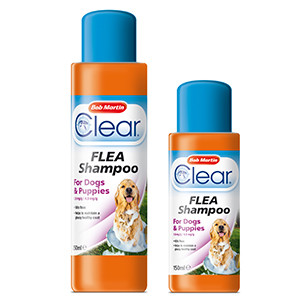 Bob Martin Clear Flea Shampoo for Dogs and Puppies