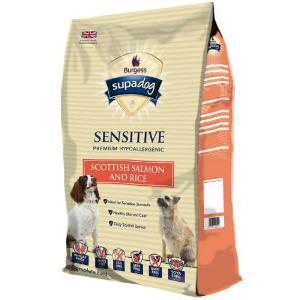 Burgess Supadog Sensitive Salmon & Rice