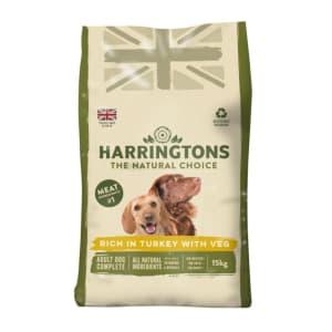 Harringtons Complete Adult Dry Dog Food - Turkey & Vegetable