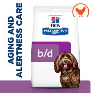 Hill's Prescription Diet Brain Aging Care b/d Dry Dog Food - Chicken