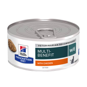 Hill's Prescription Diet Digestive/Weight Management w/d Adult Wet Cat Food - Chicken
