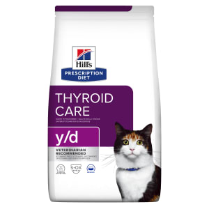 Hill's Prescription Diet Thyroid Care y/d Adult Dry Cat Food - Original