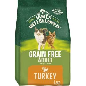 James Wellbeloved Grain Free Adult Dry Cat Food - Turkey