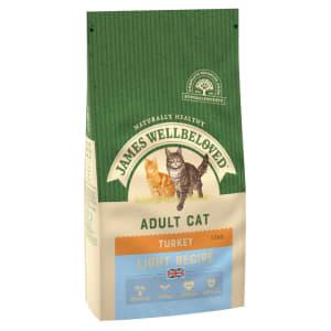 James Wellbeloved Complete Adult Dry Cat Food - Light Turkey