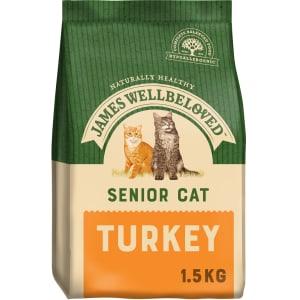 James Wellbeloved Cat Senior Turkey