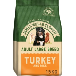 James Wellbeloved Dog Adult Large Breed Turkey & Rice