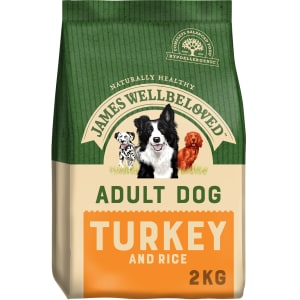 James Wellbeloved Adult Dry Dog Food Turkey & Rice