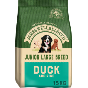 James Wellbeloved Dog Junior Large Breed Duck & Rice