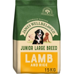 James Wellbeloved Dog Junior Large Breed Lamb & Rice