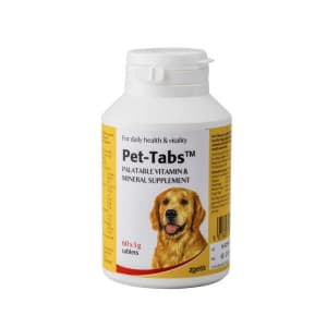 Pet-Tabs Multivitamin & Minerals Tablets for Dog