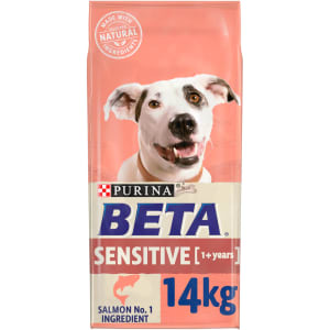 BETA Adult Sensitive Dry Dog Food with Salmon & Rice