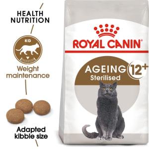 Royal Canin Senior Sterilised 12+ Dry Cat Food