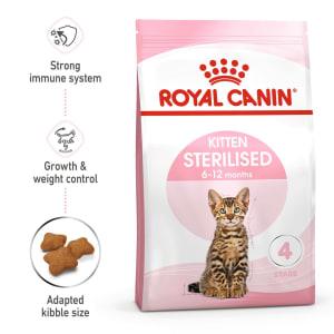 Royal Canin Sterilised Kitten Dry Food