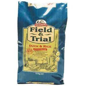 Skinner's Hypoallergenic Field & Trial Duck & Rice