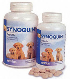 VetPlus Synoquin Growth Chewable Tablets for Dog