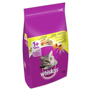 WHISKAS 1+ Cat Complete Dry