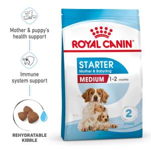 Royal Canin Medium Starter Mother & Babydog Dry Adult & Puppy Dog Food