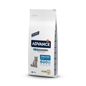 Advance Adult Sterilized Cat Food Turkey & Barley