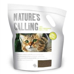Nature's Calling Walnut Shell Fine Granule Cat Litter