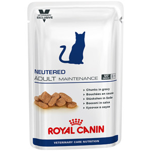 Royal Canin Veterinary Care Neutered Adult Maintenance Wet Cat Food