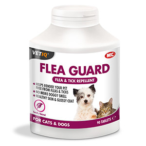 Mark & Chappell VetIQ Flea Guard Tablets