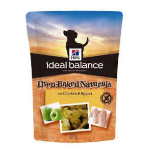 Hill's Ideal Balance Oven-Baked Naturals Adult Dog Treats - Chicken & Apples